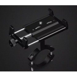 Ρυθμιζόμενη Βάση αλουμινίου κινητού τηλεφώνου 5-15cm για ηλεκτρικό σκούτερ ή ποδήλατο